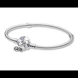 Authentic Pandora Wildflower Bracelet